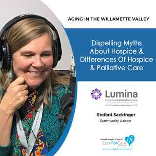 5/15/18: Stefani Sackinger with Lumina Hospice & Palliative Care
