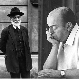 Miguel de Unamuno y Pablo Neruda