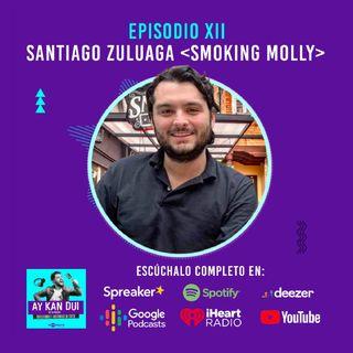 Episodio XII | Hamburguesas y Rock and Roll con Santiago Zuluaga de Smoking Molly