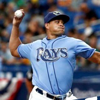 Yonny Chirinos, poniendo su fe, en cada lanzamiento con los Rays de Tampa