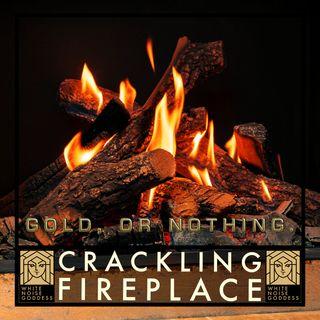 Crackling Fireplace | White Noise | ASMR & Relaxation