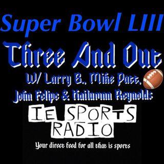 Three And Out- Senior Bowl, Pro Bowl, & Super Bowl LIII: NEvsLAR