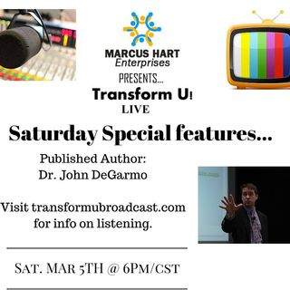 2016 Replay - Dr. John DeGarmo interviews with Marcus Hart