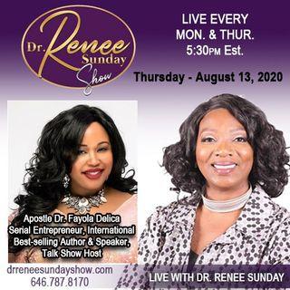 Apostle Dr. Fayola Delica Serial Entrepreneur, Talk Show Host