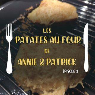 Les patates au four d'Annie et Patrick