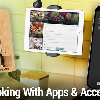 iOS 559: Get Cooking With These Apps & Accessories - Meater+, HoverBar Duo, Crouton, Paprika 3, and more