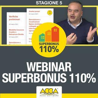 Superbonus 110 [S5-E1]: analisi prezzi