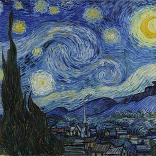 La Notte stellata Van Gogh