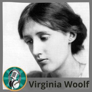 Alicia López con Virginia Woolf