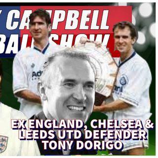 Tony Dorigo | Ex England & Former Leeds, Villa, Chelsea & Torino defender | AC Footy Show S02E03