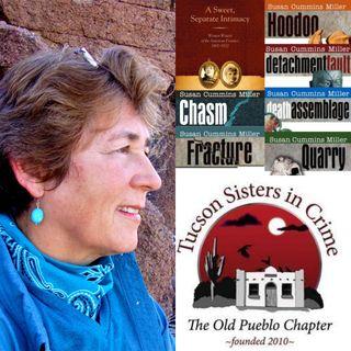 Susan Cummins Miller - Author of the Frankie McFarlane Geologist Mysteries