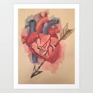 The Art of an Arrow through the Heart (A Dream)