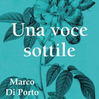 """Marco Di Porto """"Una voce sottile"""""""