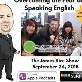 Episode 38 - Overcoming the Fear of Speaking English