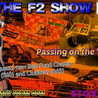 F2 Show with VLS - 22/5/18- Pass on the Dutchie