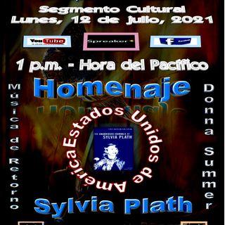 Homenaje Bilingüe a la poeta Sylvia Plath * EE. UU., acompañada de música de Donna Summer * EE. UU.