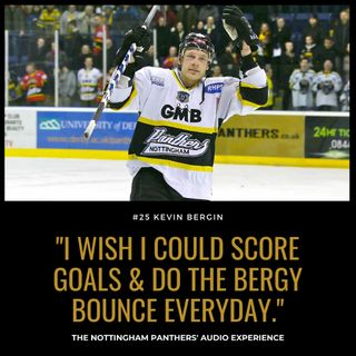 I wish I could score goals & do the Bergy Bounce everyday | Kevin Bergin