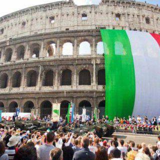 Manifestazione 2 Giugno, Salvini, Melony e Covid Party
