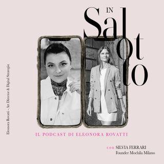 009 #insalottocon Silvia Ferrari - Founder Mochila Milano