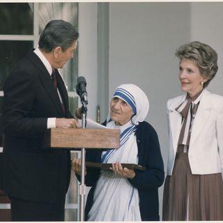 Flashback: Mother Teresa & Ronald Reagan