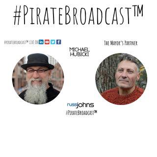 Catch Michael Hubicki on the #PirateBroadcast™