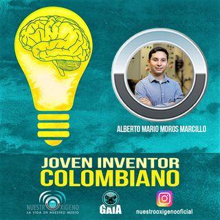 NUESTRO OXÍGENO Joven inventor colombiano - Alberto Mario Moros Marcillo