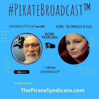 Catch Rose Morgan on the #PirateBroadcast™