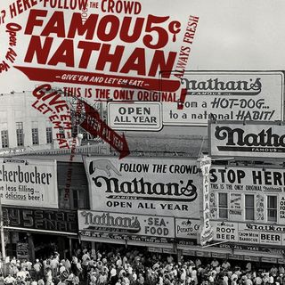 Famous Nathan was king of Coney Island! INTERVIEW