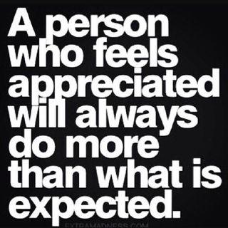 Appreciate And Support