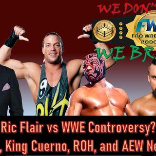 AEW News - Ric Flair / WWE Issues