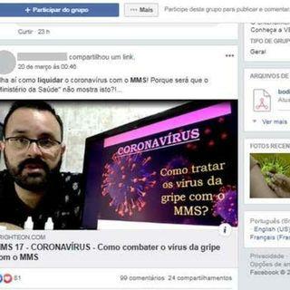 Episódio 3 - Grupos antivacina mudam foco para coronavírus e divulgam informações falsas