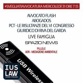 MERCOLEDÌ, 31 MAGGIO 2017 #SvegliatiAvvocatura - LIVE