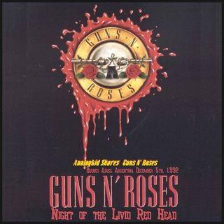 Especial GUNS N ROSES NIGHT OF THE LIVID REDHEAD (DELUXE EDITION) Classicos do rock Podcast #PRENATALCDRPOD #GnFnR #starwars #yoda #obiwan