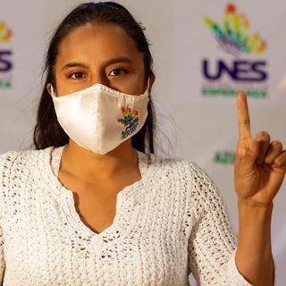 El candidato: Valeria Gomez, UNES