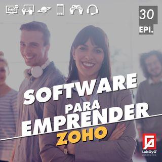 Software para emprender con Zoho.