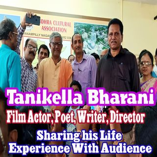 Tanikella Bharani  Sharing his Life Experience with Audience