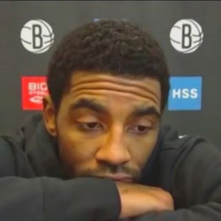 Kyrie Irving is back in Brooklyn