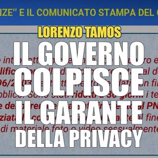 Lorenzo Tamos Sbagliato indebolire il garante della privacy