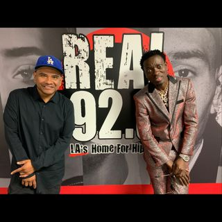 The Cruz Show Interview- Comedian Michael Blackson talks Nipsey Hussle, Friday  Movie & more.