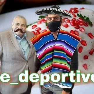 Día de Recalentado mexicano en Espacio Deportivo de la Tarde 16 de Septiembre 2020