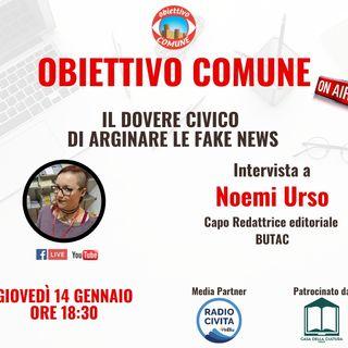 Noemi Urso e i consigli per difenderci dalle fake news