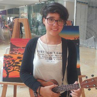 UKULELE Un Instrumento Mágico Con La Maravillosa Voz De ANDREA/Desarrollo Cultural Por RADIO SWITCH