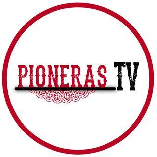 Pioneras, con Azucena Caballero y Mireia Long.