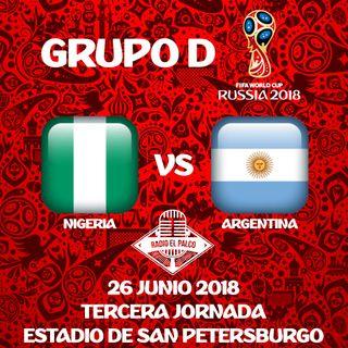 Nigeria vs Argentina en VIVO