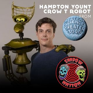 Trapped on the Satellite of Love with Crow T Robot (Hampton Yount)