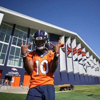 DVDD #060: Jerry Jeudy Dominates the Headlines in Broncos First Padded Practice