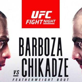 UFC Fight Night: Barboza vs Chikadze