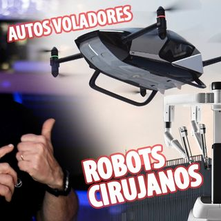 Autos voladores, Robots cirujanos y Delfín animatronic