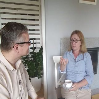 #5 Izabela Siwik i Bernard Fruga o postawieniu granicy między pracą, a życiem rodzinnym; o asertywności