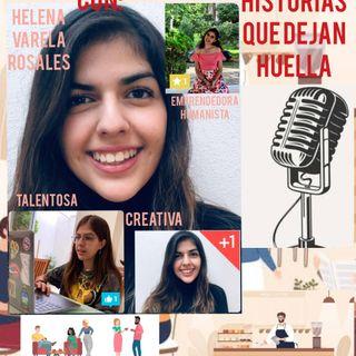 Charla en el café con Helena Varela Rosales